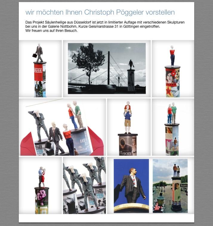 Galerie Nottbohm präsentiert Christoph Pöggeler