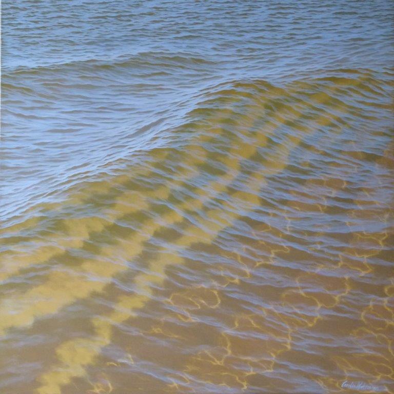 Reflections XCIV (94) 120x120cm