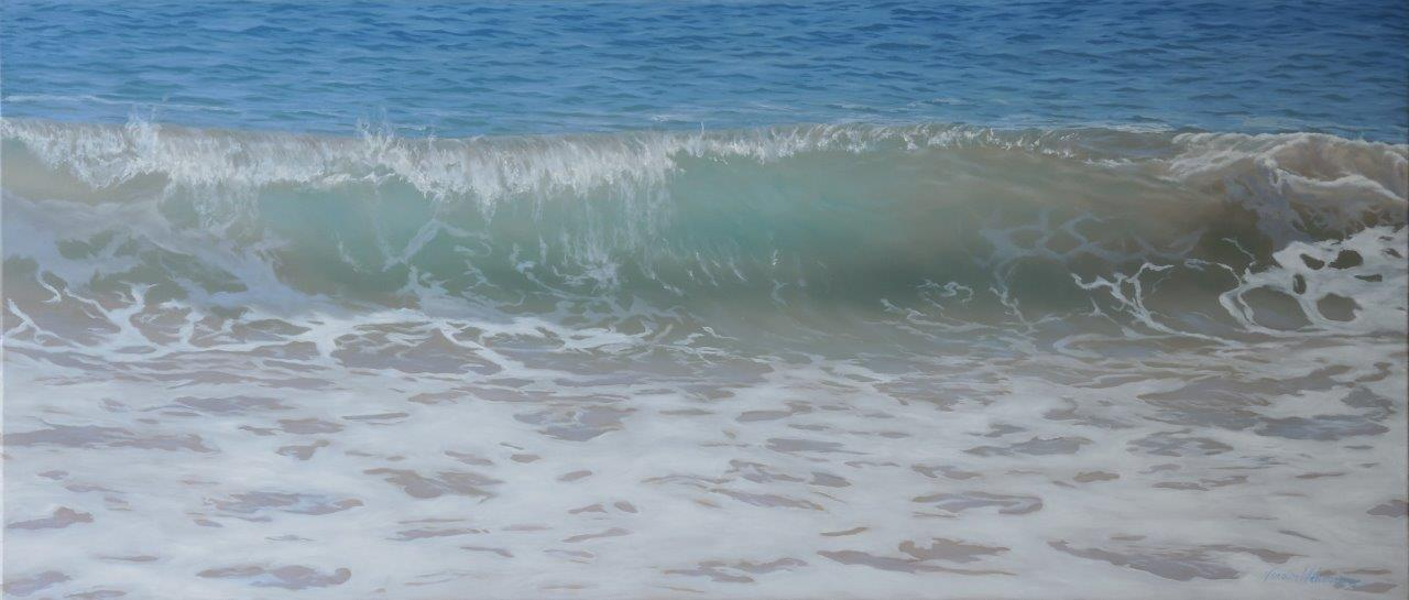 West Beach Wave 65x150cm